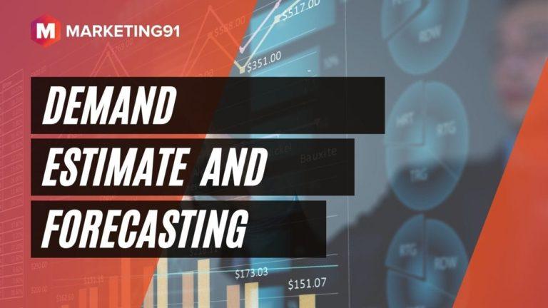 Demand Estimate and Forecasting