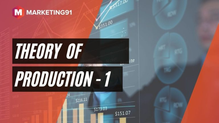 Theory of Production - 1