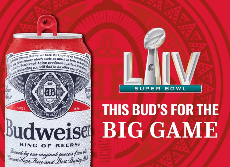 Budweiser spends big on Super Bowl