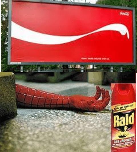 Coca Cola and Raid