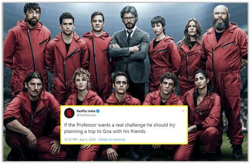 Example – Netflix