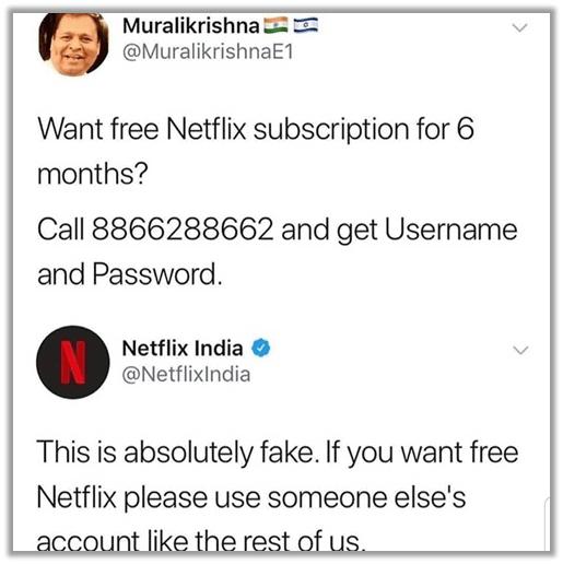 Example 1 – Netflix