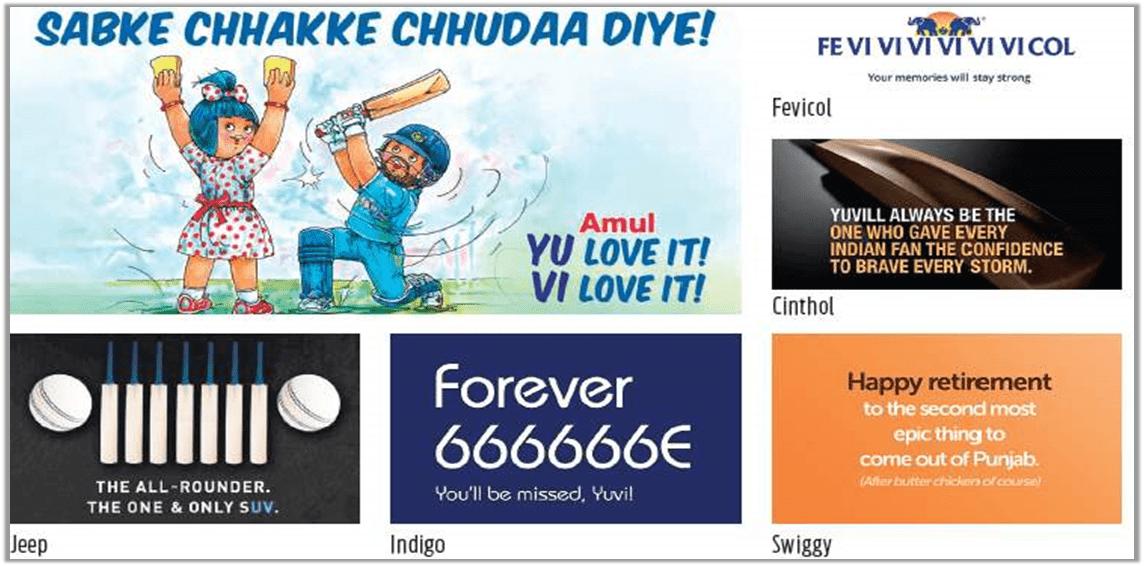 Example 2 – Indian Cricketer Yuvraj Singh's Retirement