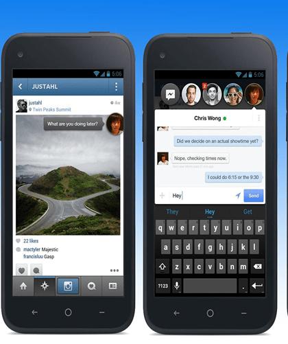 Facebook Home (Mobile phone app)