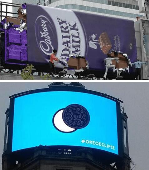 Giant Chocolate Billboard