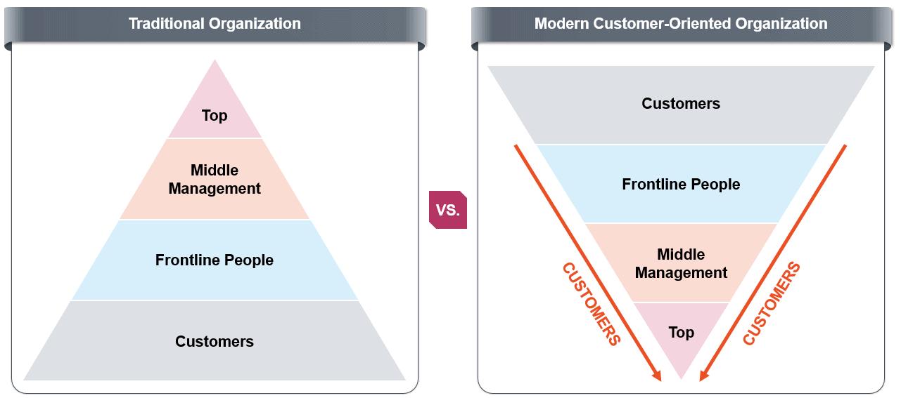 Traditional Organization AND Modern Organization
