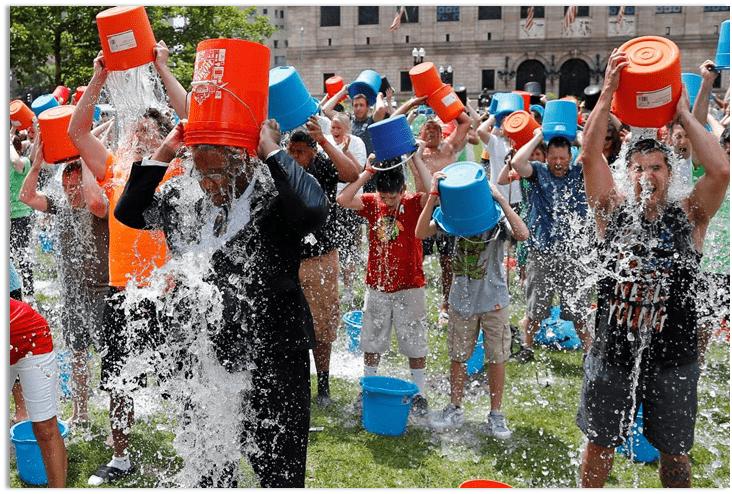 ALS Ice Bucket Challenge Commitments
