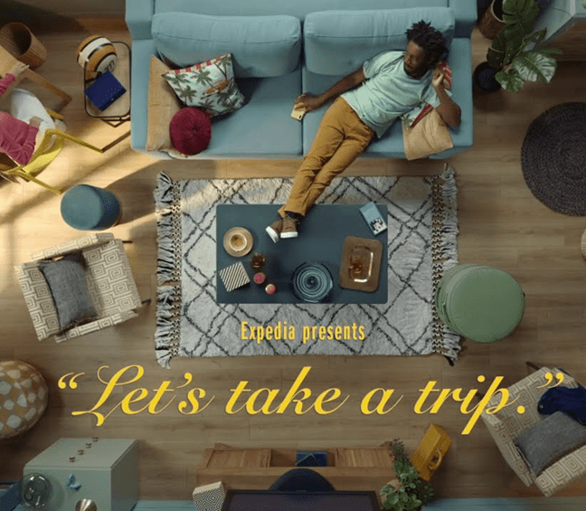Advertising Campaign Example – Expedia