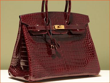 Example – Hermes Bags