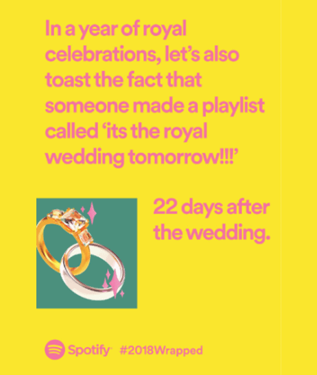 Example 3 - Spotify Wrapped Campaign